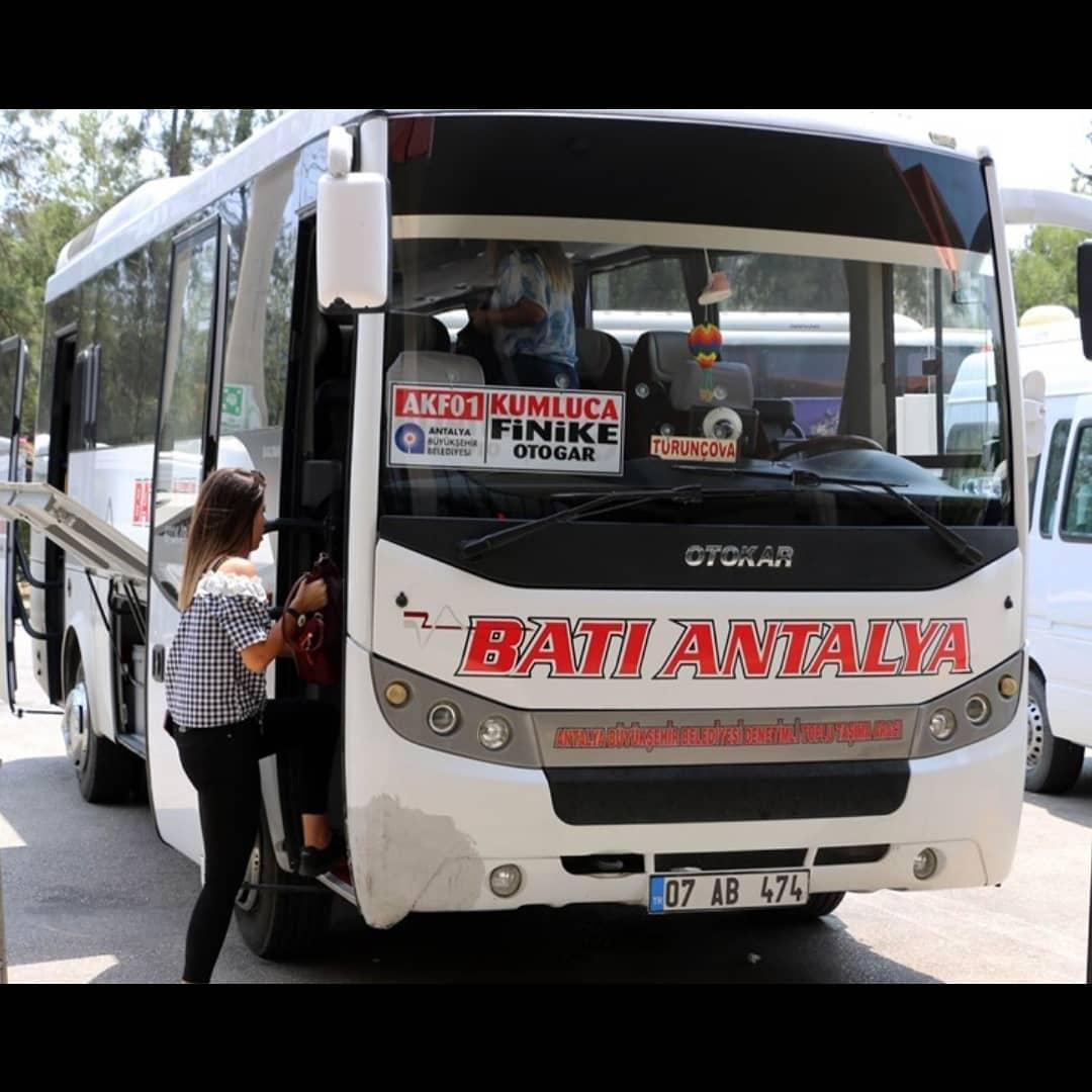 Автобус Адрасан Кумлуджа Финике