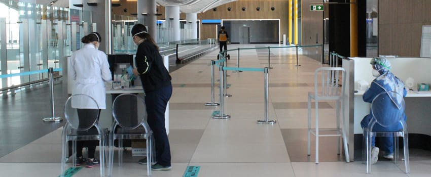 Анализы на ковид в Аэропорту